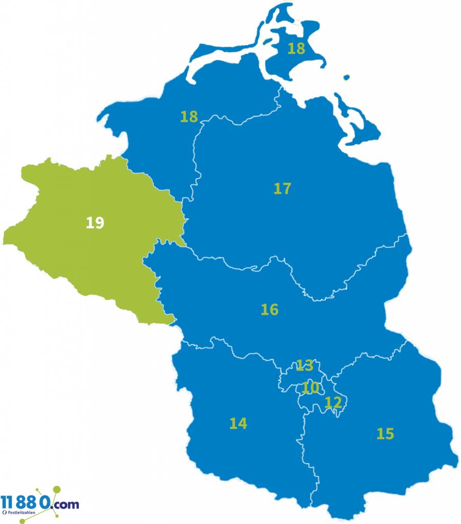 PLZ Bereich 19