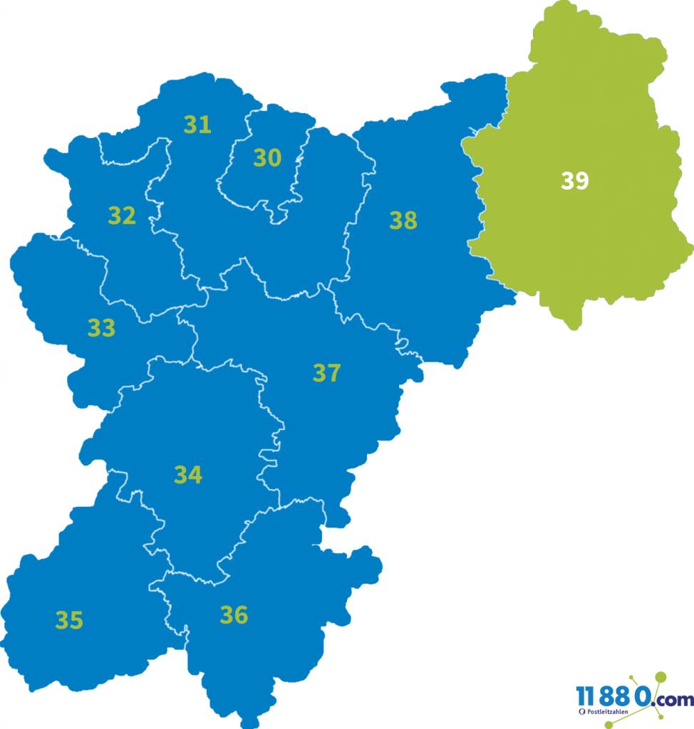 PLZ Bereich 39