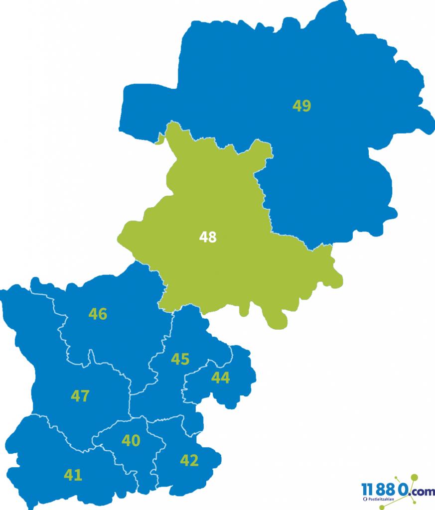 PLZ Bereich 48