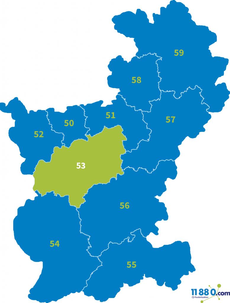 PLZ Bereich 53