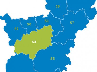 Karte Nrw Plz.Plz Nordrhein Westfalen Postleitzahlen De