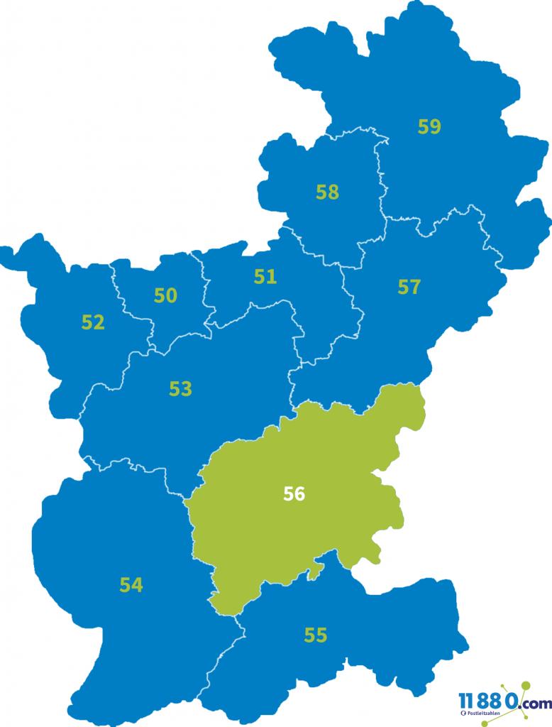 PLZ Bereich 56