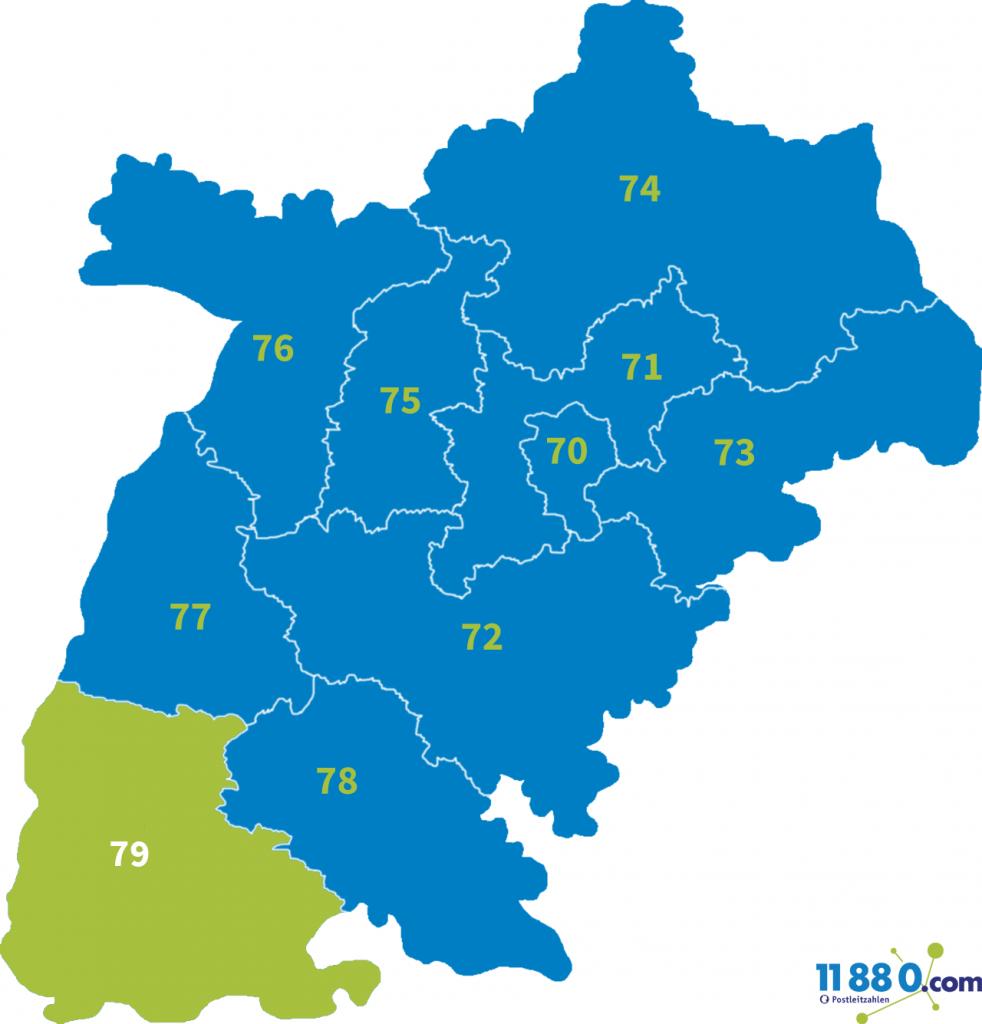 PLZ Bereich 79