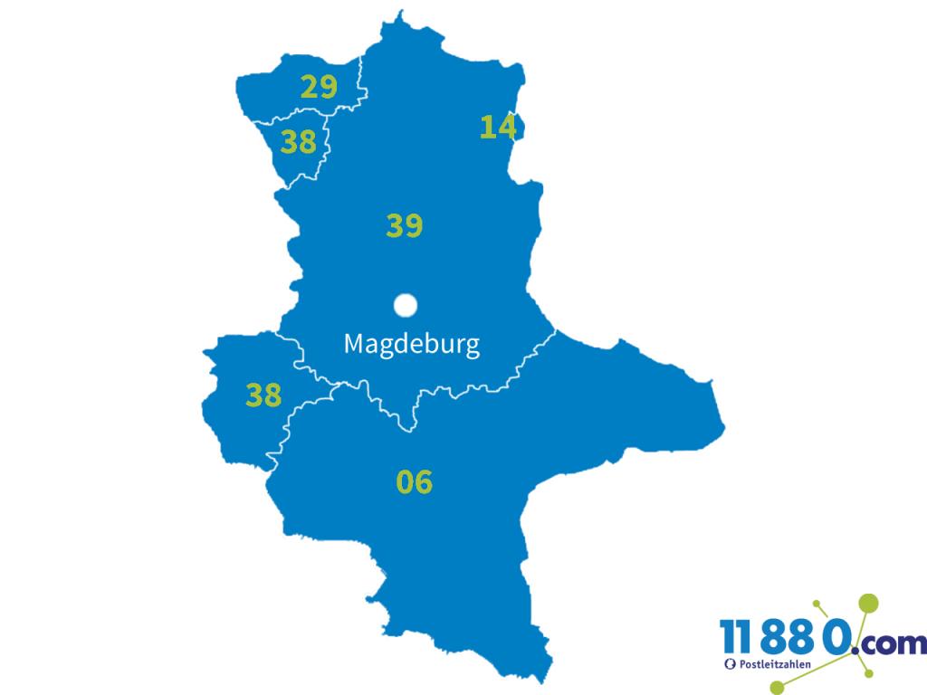 PLZ Sachsen-Anhalt